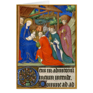 The Adoration of the Magi Card