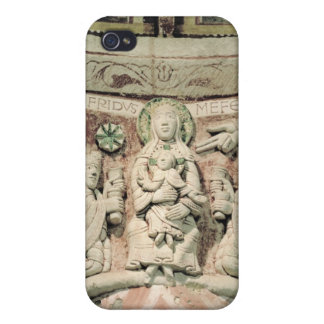 The Adoration of the Magi, column capital (stone) iPhone 4/4S Cover