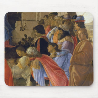 The Adoration of the Magi, detail of depicting sel Mouse Pad