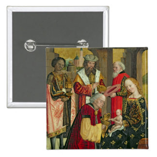 The Adoration of the Magi, from the Dome Altar 2 Inch Square Button