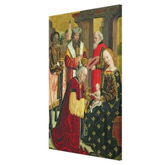 The Adoration of the Magi, from the Dome Altar Canvas Print