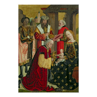 The Adoration of the Magi, from the Dome Altar Poster