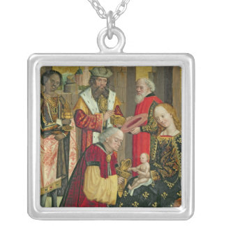 The Adoration of the Magi, from the Dome Altar Silver Plated Necklace