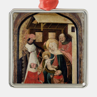 The Adoration of the Magi Metal Ornament