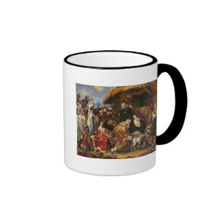 The Adoration of the Magi Ringer Coffee Mug