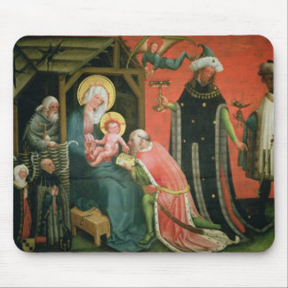 The Adoration of the Magi (oil on panel) Mouse Pad
