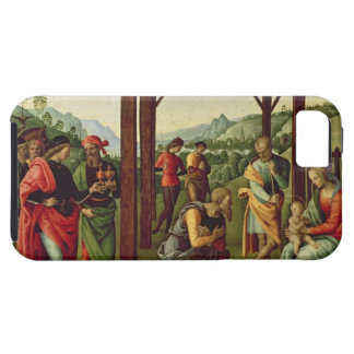 The Adoration of the Magi (oil on panel) (see also iPhone SE/5/5s Case