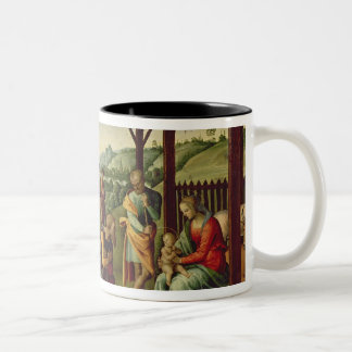 The Adoration of the Magi (oil on panel) (see also Two-Tone Coffee Mug