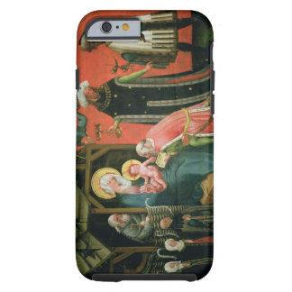 The Adoration of the Magi (oil on panel) Tough iPhone 6 Case