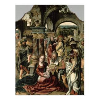 The Adoration of the Magi Postcard