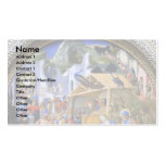The Adoration Of The Magi TondoBy Lippi Fra Filipo Business Card Template