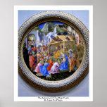 The Adoration Of The Magi TondoBy Lippi Fra Filipo Poster