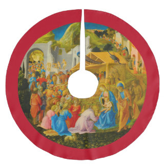 The Adoration of the Magi Tree Skirt