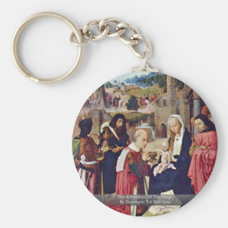 The Adoration Of The MagiBy Geertgen Tot Sint Jans Keychain
