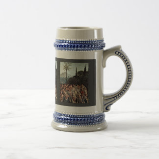 The Adoration Of The Mystical Lamb Detail By Eyck Mug