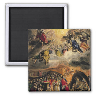 The Adoration of the Name of Jesus, c.1578 Magnet