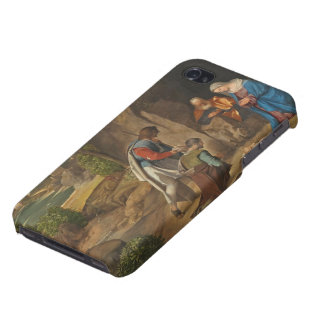 The Adoration of the Shepherds, 1505-10 iPhone 4 Covers