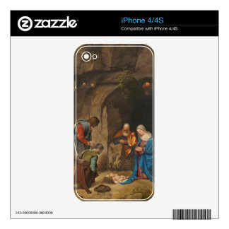 The Adoration of the Shepherds, 1505-10 iPhone 4 Decals