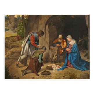 The Adoration of the Shepherds, 1505-10 Postcard