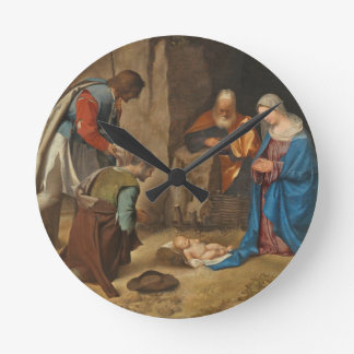 The Adoration of the Shepherds, 1505-10 Round Clock
