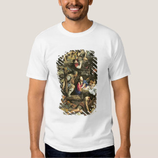 The Adoration of the Shepherds, 1612 (oil on canva T-Shirt