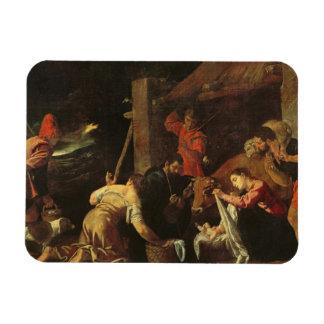 The Adoration of the Shepherds 2 Rectangular Photo Magnet