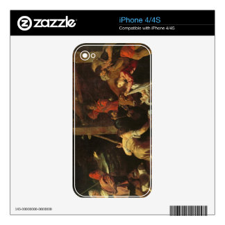 The Adoration of the Shepherds 2 Skins For iPhone 4S