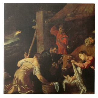 The Adoration of the Shepherds 2 Tile