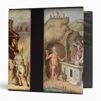 The Adoration of the Shepherds 3 Ring Binder