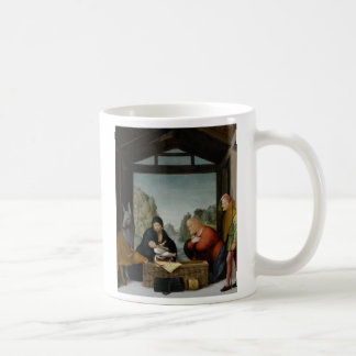 The Adoration of the Shepherds by Bartolomeo Classic White Coffee Mug