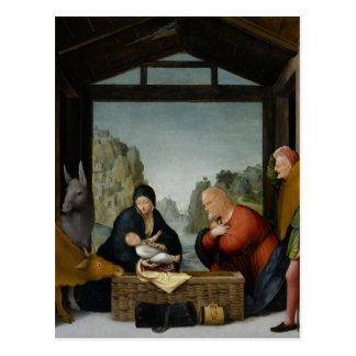 The Adoration of the Shepherds by Bartolomeo Postcard