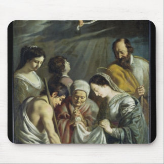 The Adoration of the Shepherds, c.1630-32 Mouse Pad