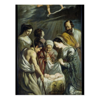The Adoration of the Shepherds, c.1630-32 Postcard