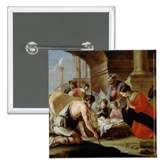 The Adoration of the Shepherds, c.1638 Pins