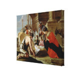 The Adoration of the Shepherds, c.1638 Gallery Wrap Canvas