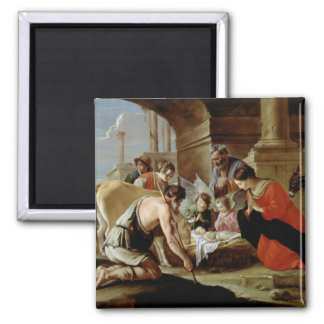 The Adoration of the Shepherds, c.1638 Magnet