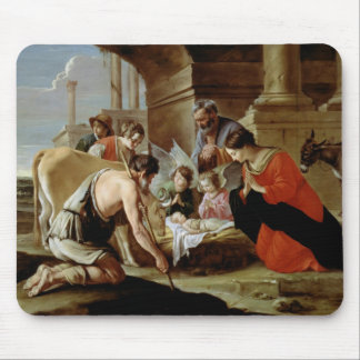 The Adoration of the Shepherds, c.1638 Mouse Pad
