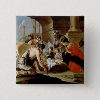 The Adoration of the Shepherds, c.1638 Pinback Button