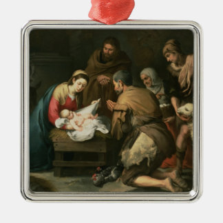 The Adoration of the Shepherds, c.1650 Metal Ornament