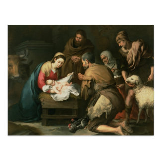 The Adoration of the Shepherds, c.1650 Postcard