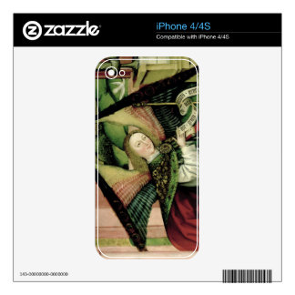 The Adoration of the Shepherds - detail of an Ange Skin For The iPhone 4