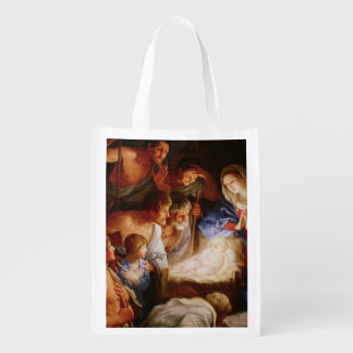 The Adoration of the Shepherds Grocery Bag
