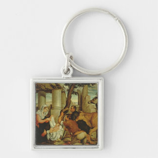 The Adoration of the Shepherds Keychain