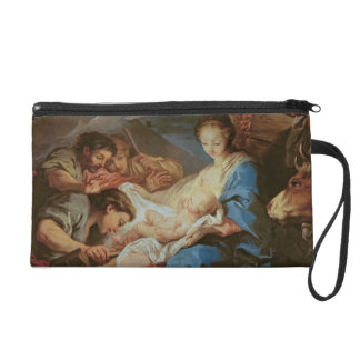 The Adoration of the Shepherds (oil on canvas) 2 Wristlets