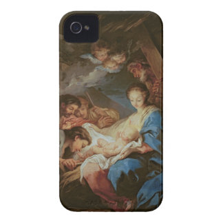 The Adoration of the Shepherds (oil on canvas) 2 iPhone 4 Cover