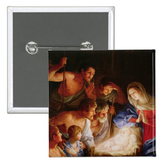 The Adoration of the Shepherds Pinback Button