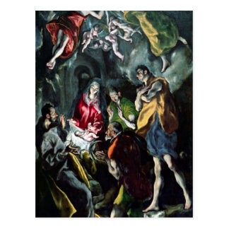 The Adoration of the Shepherds Postcard