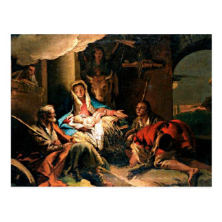 The Adoration of the Shepherds Post Cards