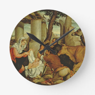 The Adoration of the Shepherds Round Clock