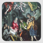 The Adoration of the Shepherds Sticker